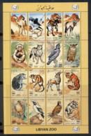 Libya 1995 Libyan Zoo Animals Sheetlet MUH - Libya