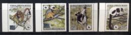 Madagascar 1988 WWF Primates In Peril MUH - Madagascar (1960-...)