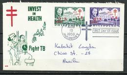 Filipinas. 1959. Primer Día De Emisión. Tuberculosis - Filipinas