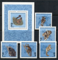 Madagascar 1990 Lemusr + MS MUH - Madagascar (1960-...)