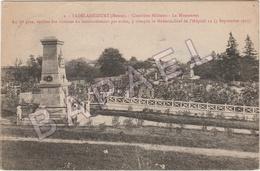 Vadelaincourt (55) - Cimetière Militaire - Le Monument (Circulé En 1922) (+ Détail Descriptif) - Andere Gemeenten
