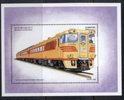 Madagascar 1990 Trains Of The World, Diesel MS MUH - Madagascar (1960-...)