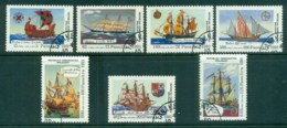 Madagascar 1991 Sailing Ships CTO - Madagascar (1960-...)