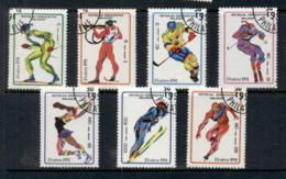 Madagascar 1991 Winter Olympics Albertville CTO - Madagascar (1960-...)