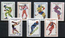 Madagascar 1991 Winter Olympics Albertville MUH - Madagascar (1960-...)