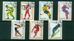 Madagascar 1991 Winter Sports CTO Lot21122 - Madagascar (1960-...)