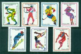 Madagascar 1991 Winter Sports MUH - Madagascar (1960-...)
