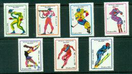 Madagascar 1991 Winter Sports MUH Lot21123 - Madagascar (1960-...)