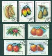 Madagascar 1992 Fruit CTO - Madagascar (1960-...)