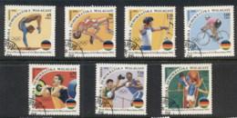 Madagascar 1992 Summer Olympics Barcelona CTO - Madagascar (1960-...)