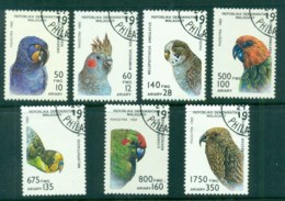 Madagascar 1993 Birds, Parrots CTO - Madagascar (1960-...)