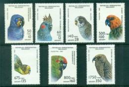 Madagascar 1993 Birds, Parrots MUH - Madagascar (1960-...)