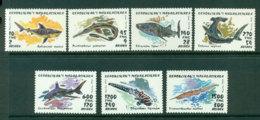 Madagascar 1993 Fish Sharks MUH Lot21136 - Madagascar (1960-...)