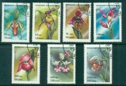 Madagascar 1993 Flowers, Orchids CTO - Madagascar (1960-...)
