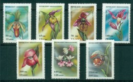 Madagascar 1993 Flowers, Orchids MUH - Madagascar (1960-...)