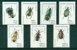 Madagascar 1993 Insects, Beetles MUH - Madagascar (1960-...)