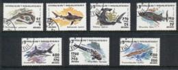 Madagascar 1993 Marine Life Fish, Sharks CTO - Madagascar (1960-...)