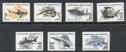 Madagascar 1993 Marine Life Sharks, Fish MUH - Madagascar (1960-...)