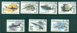 Madagascar 1993 Marine Life, Sharks, Fish CTO - Madagascar (1960-...)