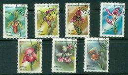 Madagascar 1993 Orchids CTO Lot21133 - Madagascar (1960-...)
