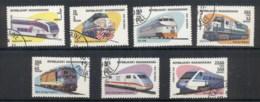 Madagascar 1993 Trains CTO - Madagascar (1960-...)