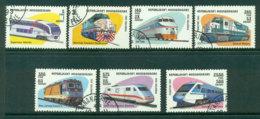 Madagascar 1993 Trains CTO Lot21137 - Madagascar (1960-...)