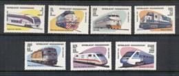 Madagascar 1993 Trains MUH - Madagascar (1960-...)