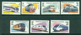 Madagascar 1993 Trains MUH Lot21138 - Madagascar (1960-...)