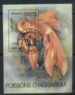 Madagascar 1994 Aquarium Fish MS CTO - Madagascar (1960-...)