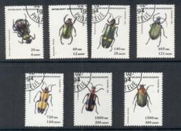 Madagascar 1994 Insects, Beetles CTO - Madagascar (1960-...)