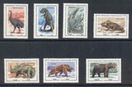 Madagascar 1995 Prehistoric Animals Dinosaurs MUH - Madagascar (1960-...)