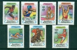 Madagascar 1995 Summer Sports MUH - Madagascar (1960-...)