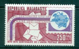 Malagasy Rep 1974 UPU Centenary MUH Lot56305 - Madagascar (1960-...)