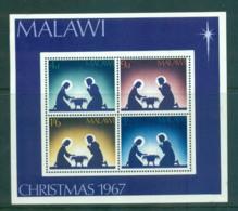 Malawi 1967 Xmas MS MUH Lot55290 - Malawi (1964-...)