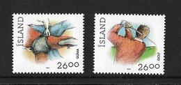 ISLANDE 1991 GOLF-LUTTE  YVERT N°702/03  NEUF MNH** - Golf