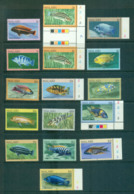 Malawi 1984 Aquarium Fish MUH/FU Lot55272 - Malawi (1964-...)