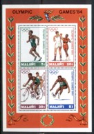 Malawi 1984 Summer Olympics MS MUH - Malawi (1964-...)