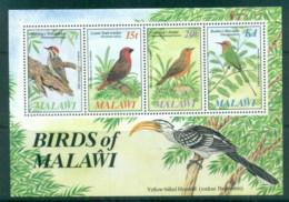 Malawi 1985 Audubon Birds MS MUH - Malawi (1964-...)