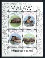 Malawi 1987 Hippopotamus MS MUH - Malawi (1964-...)