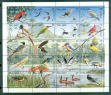 Malawi 1992 Birds Sheetlet MUH - Malawi (1964-...)