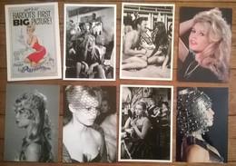 Lot De 8 Cartes Postales Cinéma Brigitte BARDOT /c - Artistes