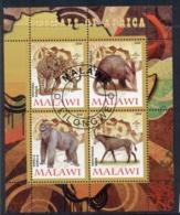 Malawi 2008 Animals Of Africa, Gorilla MS CTO - Malawi (1964-...)
