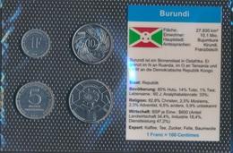 Burundi Stgl./unzirkuliert Kursmünzen Stgl./unzirkuliert 1980-2011 1 Franc Bis 50 Franc (9030304 - Burundi