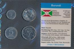 Burundi Stgl./unzirkuliert Kursmünzen Stgl./unzirkuliert 1980-2011 1 Franc Bis 50 Franc (9030305 - Burundi