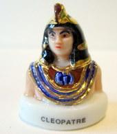 Fève  Brillante - L'Egypte - Cléopatre - - Characters