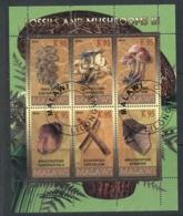 Malawi 2010 Fossils & Mushrooms III MS CTO - Malawi (1964-...)