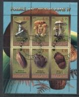 Malawi 2010 Fossils & Mushrooms IV MS CTO - Malawi (1964-...)