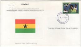 Ghana.  FDC Du 19/JY/1982. - Ghana (1957-...)