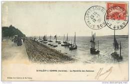 80  SAINT VALERY SUR SOMME N° 691 -  LA RENTREE DES BATEAUX - Saint Valery Sur Somme