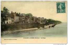 80  SAINT VALERY SUR SOMME N° 701 - LA PLAGE - Saint Valery Sur Somme
